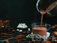 Рецепта Горещ (топъл) шоколад с коняк